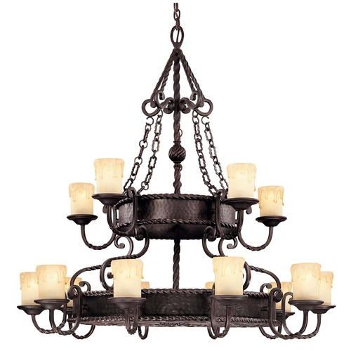 Savoy House Savoy House Slate Chandelier 1-2233-15-25