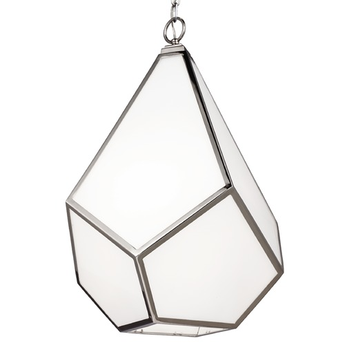 Feiss Lighting Feiss Lighting Diamond Polished Nickel Pendant Light F3034/4PN