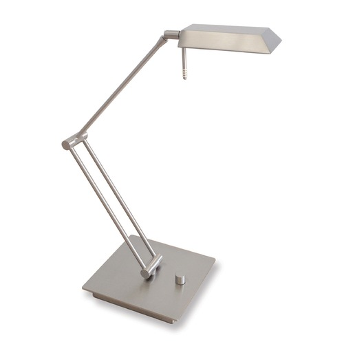 Holtkoetter Lighting Genesis Satin Nickel LED Swing Arm Lamp 6321LEDSN