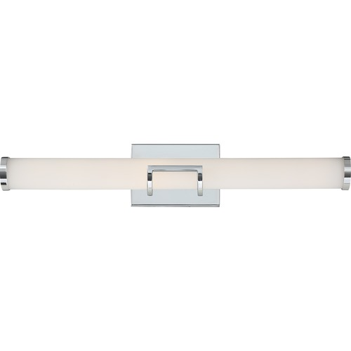 Quoizel Lighting Quoizel Lighting Platinum Baton Polished Chrome LED Bathroom Light PCBT8526C