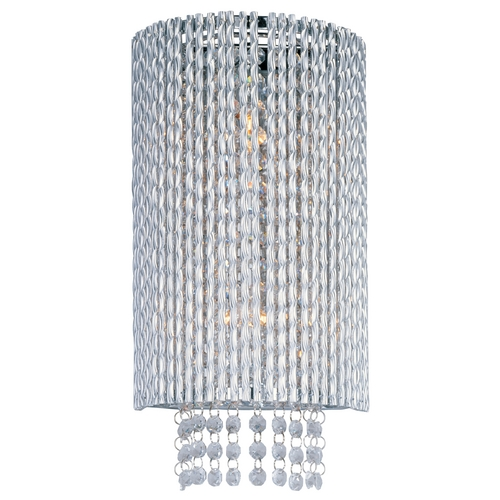 ET2 Lighting Modern Sconce Wall Light in Polished Chrome Finish E23131-10PC