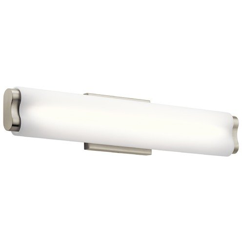 Elan Lighting Elan Lighting Kaz Brushed Nickel LED Bathroom Light 83815