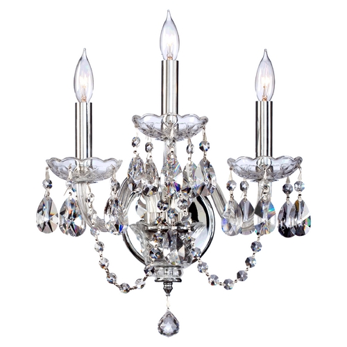 Quorum Lighting Quorum Lighting Bohemian Katerina Chrome Sconce 631-3-514