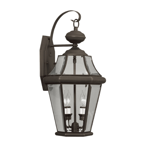 Livex Lighting Livex Lighting Georgetown Bronze Outdoor Wall Light 2261-07