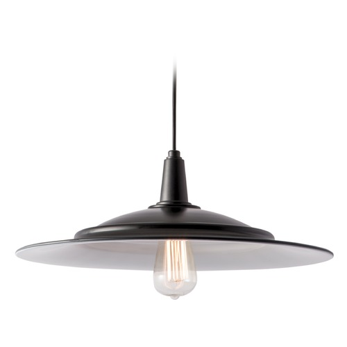 Norwell Lighting Norwell Lighting Avery Bronze Pendant Light with Coolie Shade 1085-BR-NG