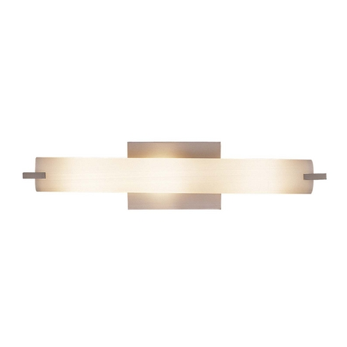 George Kovacs Lighting Tube Brushed Nickel Bathroom Light - Vertical or Horizontal Mounting P5044-084