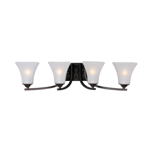 Maxim Lighting Maxim Lighting Aurora Oil Rubbed Bronze Bathroom Light 20101FTOI