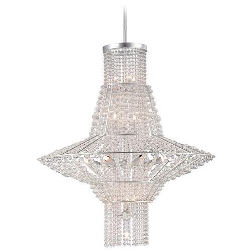 Metropolitan Lighting Metropolitan Saybrook Catalina Silver Pendant Light N7316-598