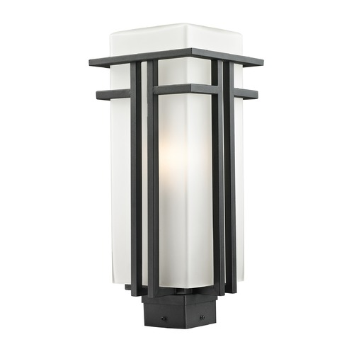 Z-Lite Z-Lite Abbey Black Post Light 549PHB-BK