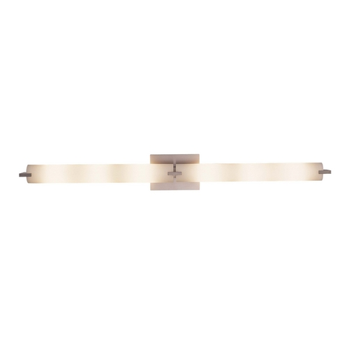 George Kovacs Lighting Tube Brushed Nickel Bathroom Light - Vertical or Horizontal Mounting P5046-084