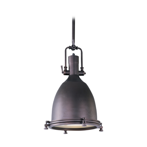 Maxim Lighting Pendant Light in Bronze Finish 25104FTBZ