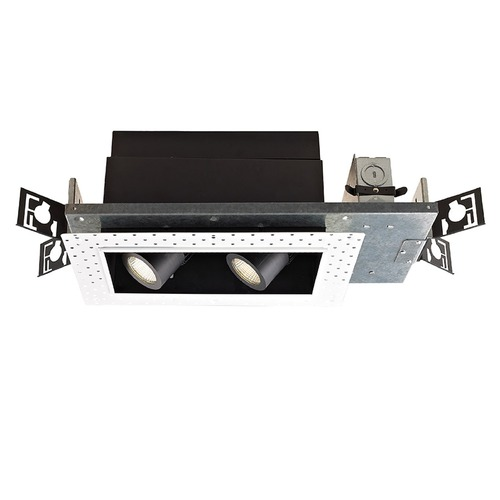 WAC Lighting WAC Lighting Precision Multiples Black LED Recessed Can Light MT-4LD216N-F927-BK