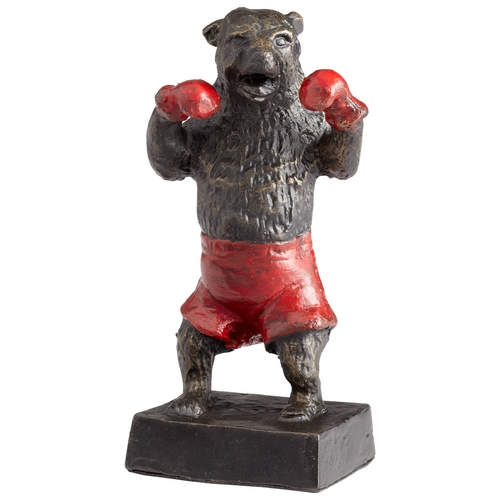 Cyan Design Cyan Design Bear Down Old World & Red Sculpture 05541