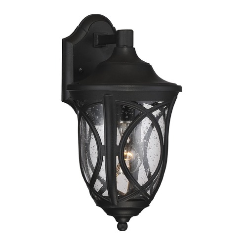 Savoy House Savoy House Lighting Highgate Black Outdoor Wall Light 5-310-BK