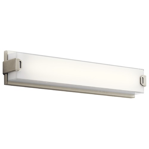 Elan Lighting Elan Lighting Xeo Brushed Nickel LED Bathroom Light 83826