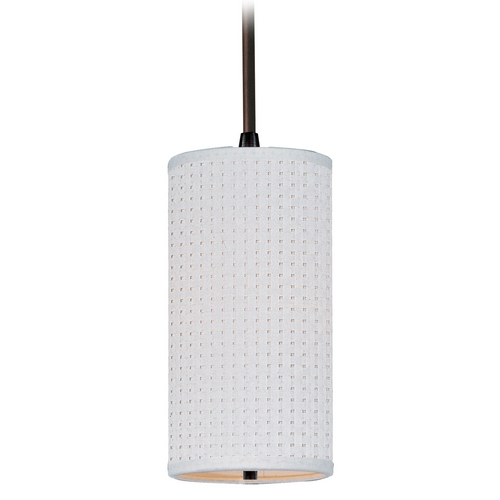 ET2 Lighting Modern Mini-Pendant Light with White Shade E95134-100OI