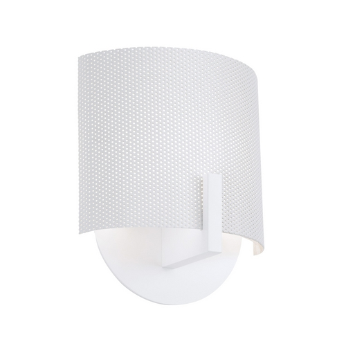 Sonneman Lighting Modern Sconce Wall Light in Satin White Finish 1728.03P