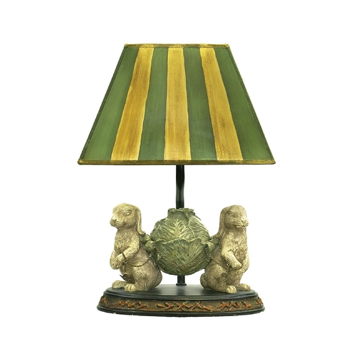 Sterling Lighting Table Lamp with Multi-Color Shade 91-277