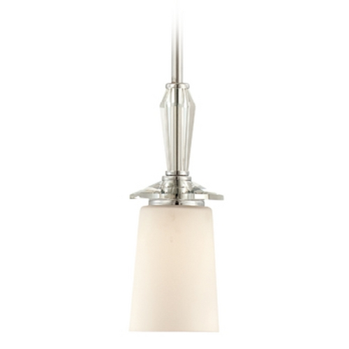 Designers Fountain Lighting Mini-Pendant Light with White Glass 84230-CH