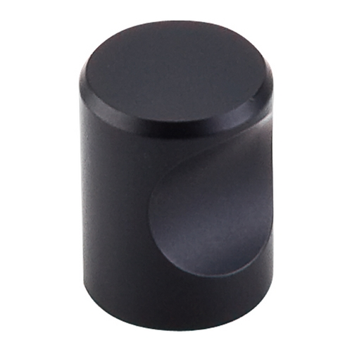 Top Knobs Hardware Modern Cabinet Knob in Flat Black Finish M581