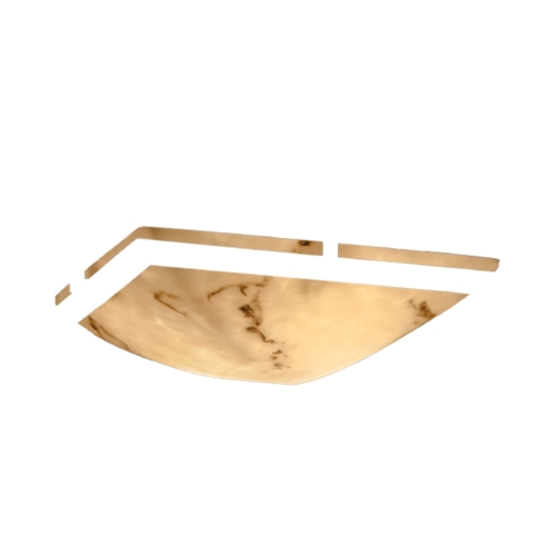 Justice Design Group Justice Design Group Lumenaria Collection Semi-Flushmount Light FAL-9780-25-NCKL