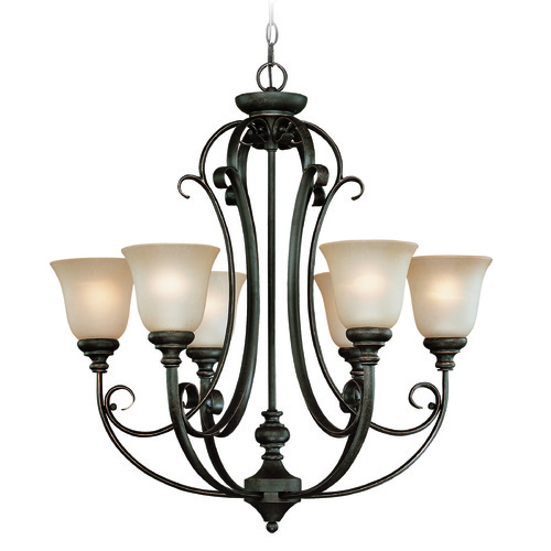 Jeremiah Lighting Jeremiah Barrett Place Mocha Bronze Chandelier 24226-MB