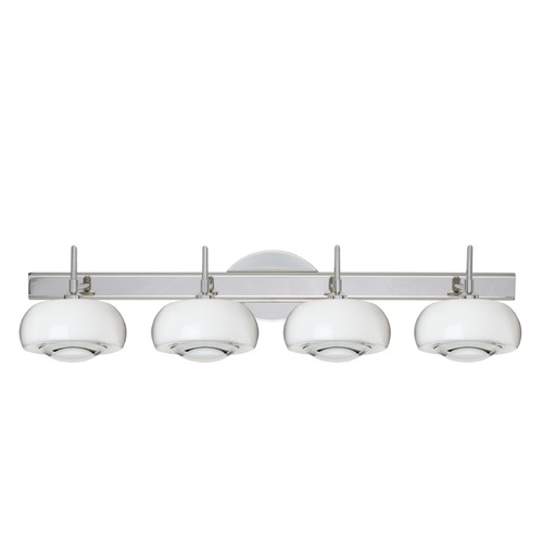 Besa Lighting Besa Lighting Focus Chrome Bathroom Light 4SW-2634CL-CR