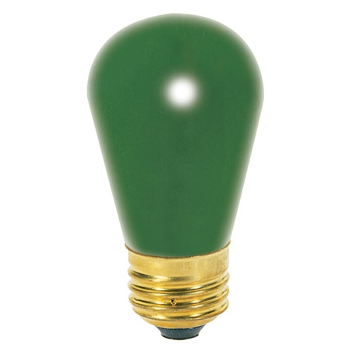 Satco Lighting Incandescent S14 Light Bulb Medium Base 130V by Satco S3962