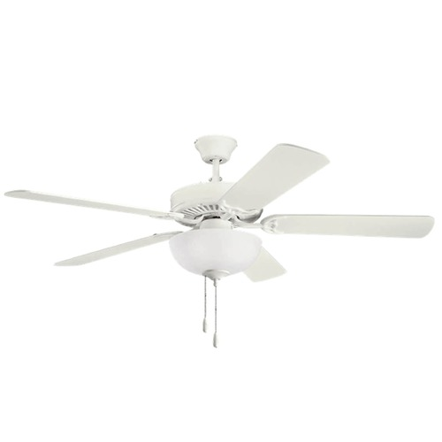 Kichler Lighting Kichler Lighting Basics Ceiling Fan with Light 403SNW