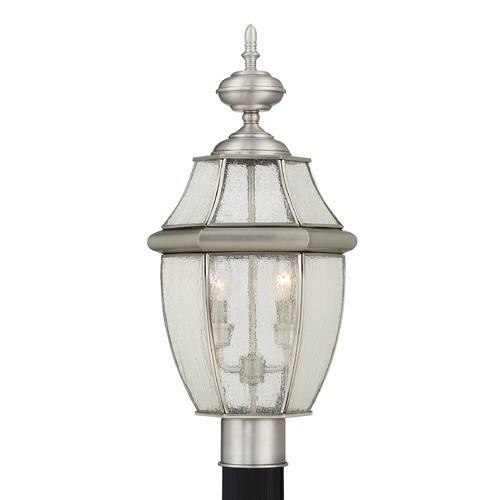 Quoizel Lighting Quoizel Newbury Pewter Post Light NY9011P