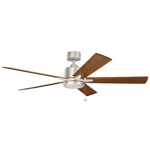 Kichler Lighting Kichler Lighting Bowen Brushed Nickel Ceiling Fan Without Light 330243NI