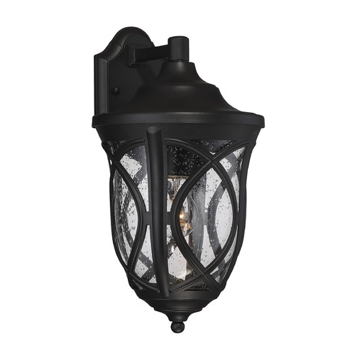 Savoy House Savoy House Lighting Highgate Black Outdoor Wall Light 5-311-BK