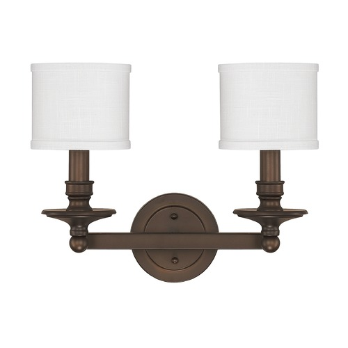 Capital Lighting Capital Lighting Midtown Burnished Bronze Bathroom Light 1237BB-451