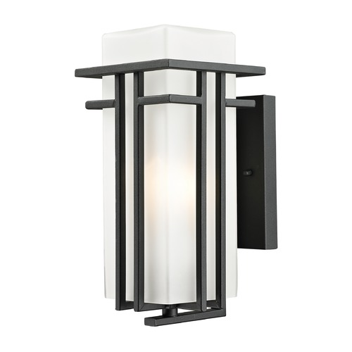 Z-Lite Z-Lite Abbey Black Outdoor Wall Light 549S-BK