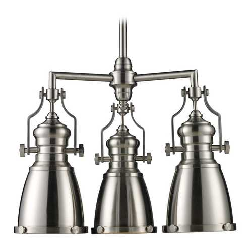 Elk Lighting Island Light in Satin Nickel Finish 66120-3