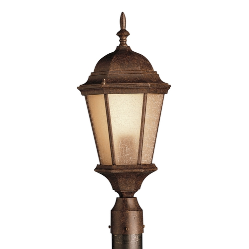 Kichler Lighting Kichler Outdoor Post Light in Bronze Finish 10956TZ