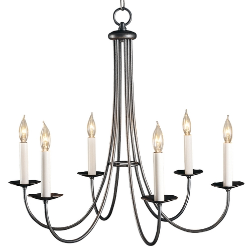 Hubbardton Forge Lighting Chandelier in Natural Iron Finish 101160-20