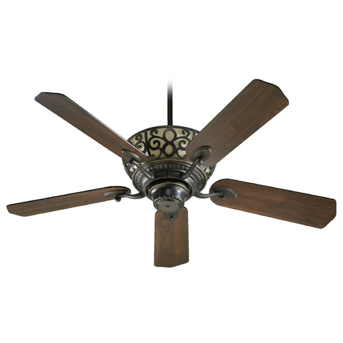 Quorum Lighting Quorum Lighting Cimarron Old World Ceiling Fan with Light 69525-95