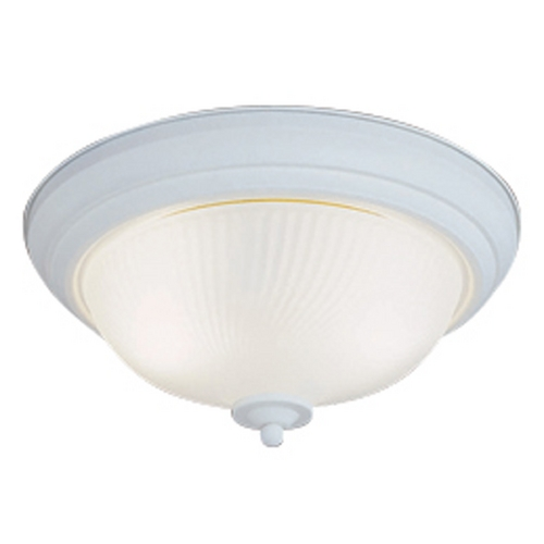 Livex Lighting Livex Lighting Textured White Flushmount Light 9040-13