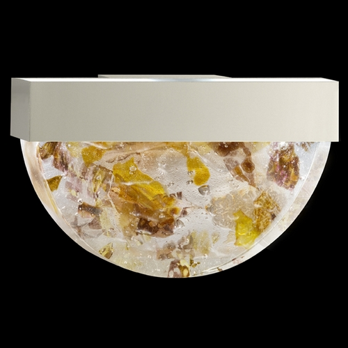 Fine Art Lamps Fine Art Lamps Crystal Bakehouse Silver Sconce 824550-21ST