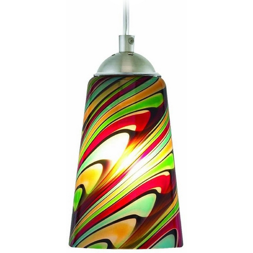 Oggetti Lighting Oggetti Lighting Carnivale Dark Pewter Mini-Pendant Light with Cylindrical Shade 22-206D