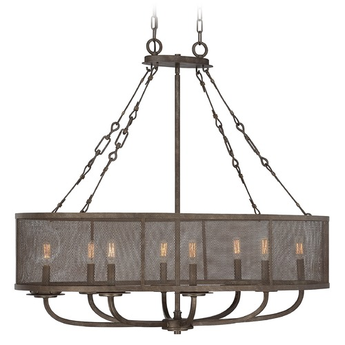 Savoy House Savoy House Galaxy Bronze Chandelier 1-2501-8-42