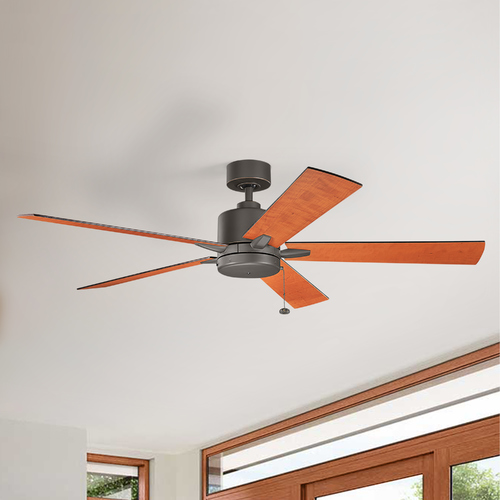 Kichler Lighting Kichler Lighting Bowen Olde Bronze Ceiling Fan Without Light 330243OZ