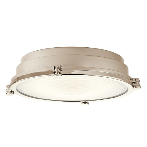 Kichler Lighting Kichler Lighting Hatteras Bay LED Flushmount Light 43885PNLED