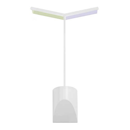 Sonneman Lighting Sonneman Chroma Satin White LED Sconce 2375.03