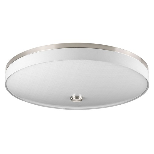 Progress Lighting Progress Lighting Weaver LED Brushed Nickel LED Flushmount Light P3612-0930K9