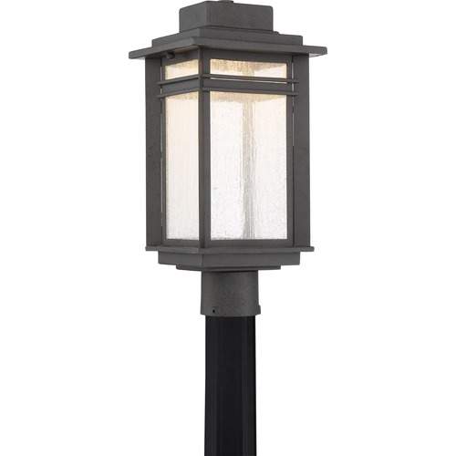 Quoizel Lighting Quoizel Lighting Beacon Stone Black LED Post Light BEC9009SBK