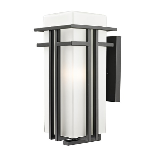 Z-Lite Z-Lite Abbey Outdoor Rubbed Bronze Outdoor Wall Light 550B-ORBZ