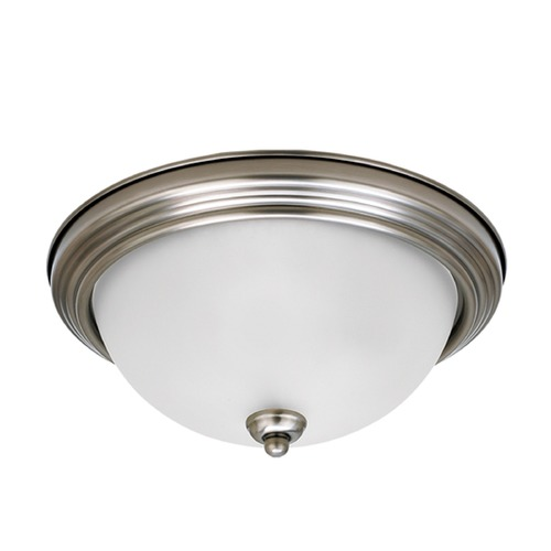 Sea Gull Lighting Sea Gull Lighting Ceiling Flush Mount Antique Brushed Nickel Flushmount Light 79364BLE-965