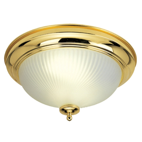 Livex Lighting Livex Lighting Polished Brass Flushmount Light 9040-02